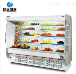 XZ-15FMH旭众智能 厂家直销 弧边风幕冷藏柜