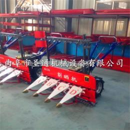 STG-100手扶式稻麦割晒机 小型农用秸秆收割机