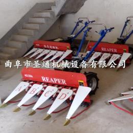 STG-100農用手扶式收割機 大馬力牧草秸稈收割機