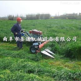 STG-100小型艾草手扶式收割机 专业农用秸秆割晒机