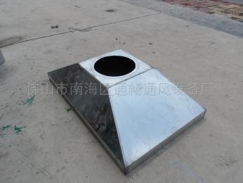 jw66廠家供應現貨白鐵煙罩抽排除吸塵罩螺旋風管