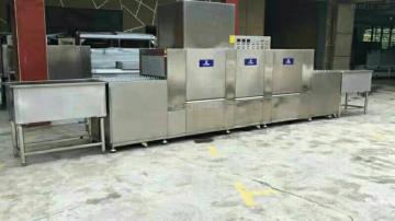 JTR-FA3800+SI一洗一漂一烘干長龍式洗碗機