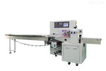 HP-250X蜜餞果脯 反拉膜 固體蠟 蠟燭枕式包裝機