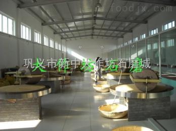 黑河市60型原生态石磨豆腐机豆浆机