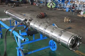 300QJH不锈钢深井泵品牌_井用潜水泵选型_高扬程深井泵