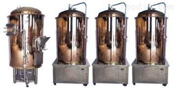 不锈钢500L500升精酿啤酒设备小型自酿原浆手工啤酒机