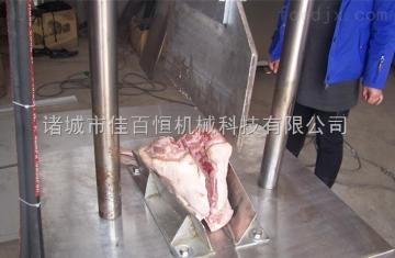 屠宰设备厂家直销猪头劈半机