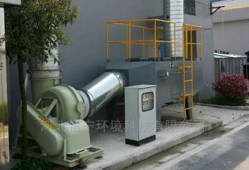 砂轮厂处理净化车间烟尘烟气