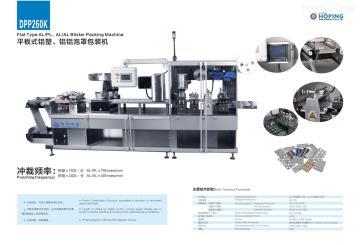DPP260K平板泡罩包装机
