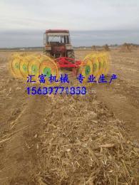 hf-4成都 玉米秸秆搂草机厂家  弹齿式搂草机价格