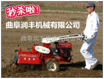 RF-GLJ葱姜种植开沟培土机 手扶开沟扶拢机 田园管理机价格
