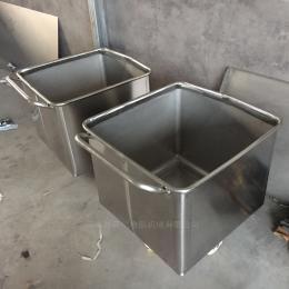 定制食品機械供應不銹鋼料斗車 食品小料車設備
