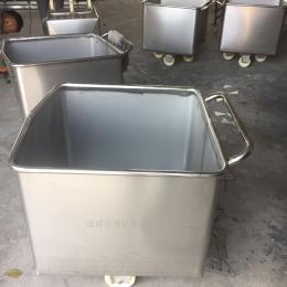 定制小料車肉料車生產廠家304不銹鋼制造料斗車