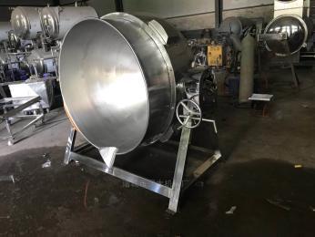 300立式夹层锅 电加热炒锅蒸煮锅