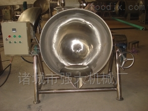 300L电加热夹层锅  搅拌式炒锅 蒸煮锅