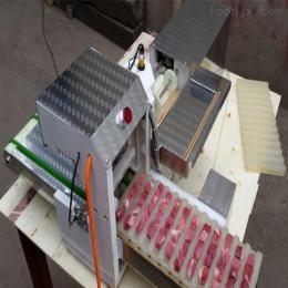 XB-2自動型穿串機烤串羊肉串穿串機商用全自動五花肉片肉串機