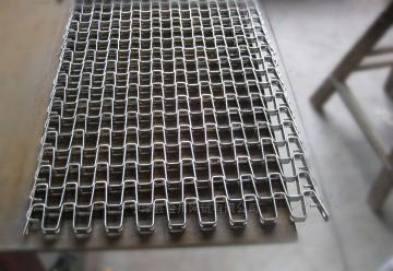 不锈钢链条式网带 螺旋输送带 金属传动带