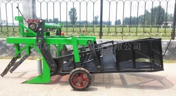 4hs-2拖拉機皮帶帶動花生收割機