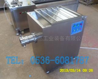 定制全自動凍肉機碎肉機 不銹鋼120絞肉機定制