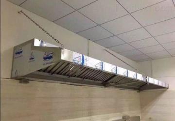 dfsp西安飯店酒店員工食堂廚房排煙排煙罩集煙罩