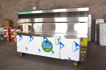 dfsp西安烧烤店烧烤设备三阳无烟烧烤车