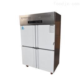 SLLD-0.84GN/Z山西职工餐厅厨房不锈钢设备立式四门冰箱