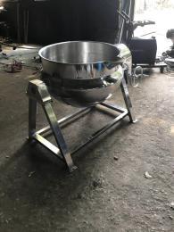 600强大机械厂家直销蒸煮电加热夹层锅