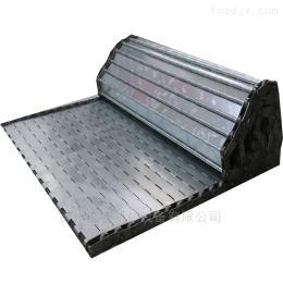 可 金属链板不锈钢材质链板 挡板式输送链板