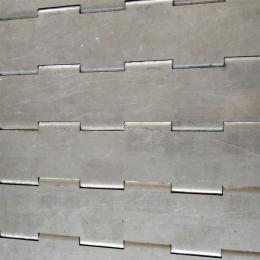 可 供应排屑机链板 输送带传动链板