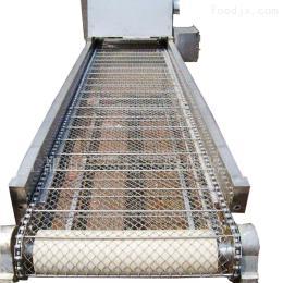非标定制葵花籽排屑机 食品链条网带输送机