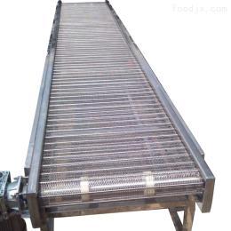 304不銹鋼鏈板輸送機 網鏈輸送