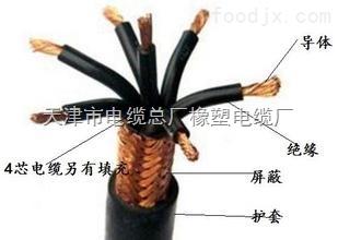 耐火控制电缆批发 NH-KVVR 消防线3x2.5 3x4