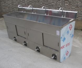 醫用洗手池武漢醫用感應不銹鋼洗手池