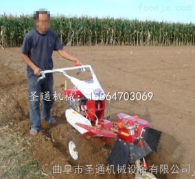 STKG-186栽种毛桃树挖沟机 电启动柴油开沟机