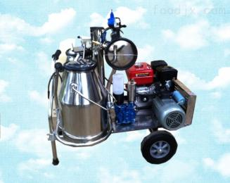 真空式油电两用挤奶机