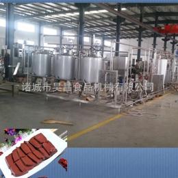 定制血豆腐生產線價格 血豆腐加工設備供應