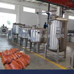 定制鴨血豆腐生產線 鴨血豆腐生產線工藝