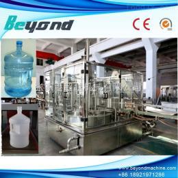 液体灌装机 3L-5L瓶全自动桶装水灌装机 三合一桶装水生产线