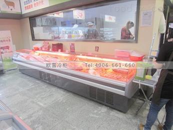 WF-2500SAS北京熟食店展示柜尺寸設計安裝