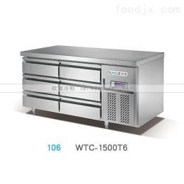 WTC-1800HA浙江酒店平台冷藏展示柜工作台