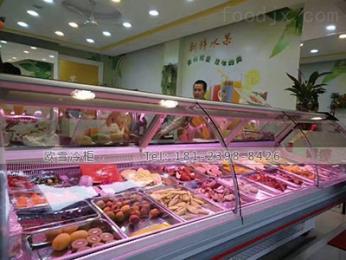 WF-2500SAS深圳一臺內置熟食展示柜款式