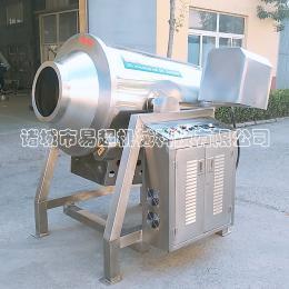 YC-600L全自动果仁滚筒炒锅