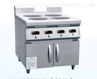 电磁四头煲仔炉灶