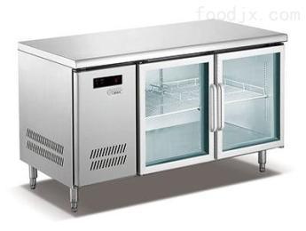 雙門平臺保鮮柜制冷