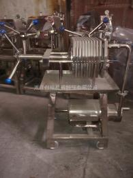 WBG-1-150不锈钢板框压滤机