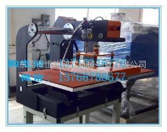 HJ东莞厂家直销上滑式双工位烫画机 服装烫钻机 热转印设备