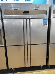 不锈钢厨房冰箱鹤壁新乡商用冰箱批发市场两门四六门冰柜