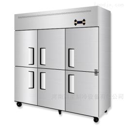 商用厨房冰箱商丘四门六门冰箱漯河饭店厨房不锈钢冷冻柜