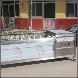 DR-1500德尔厂家直销鲤鱼毛辊清洗机去鳞一体机