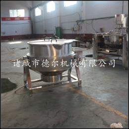 DR-400厂家直销芝麻 花生 腰果不锈钢夹层锅炒货机